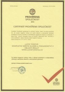 Lucie-Tumova-certifikat-proverena-spolecnost-A